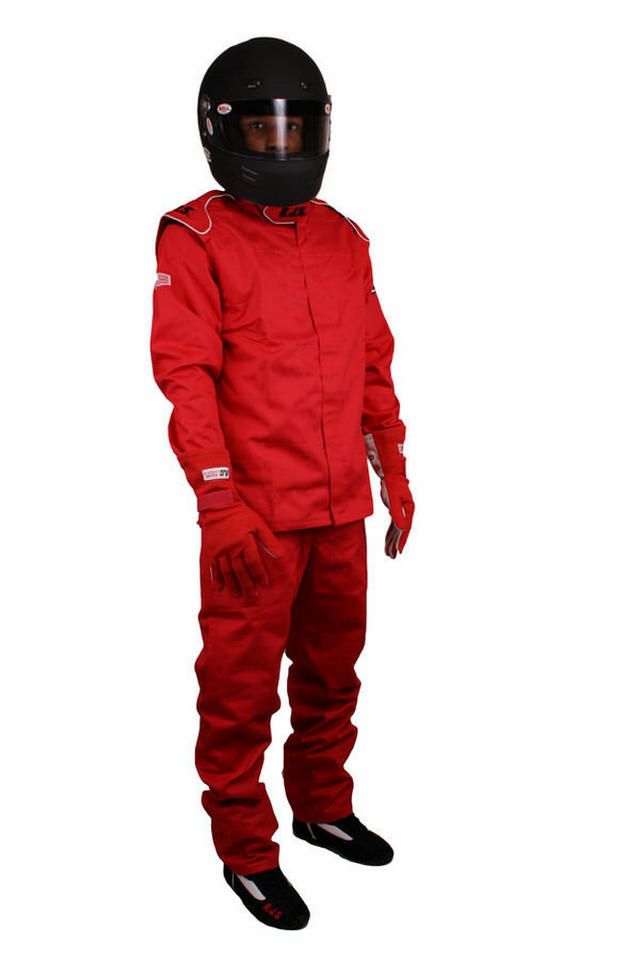 Jacket Red Large SFI-3-2A/5 FR Cotton