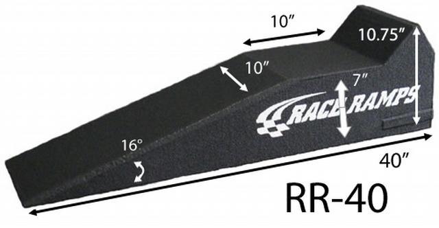 40in Race Ramp Short Ramps Pair