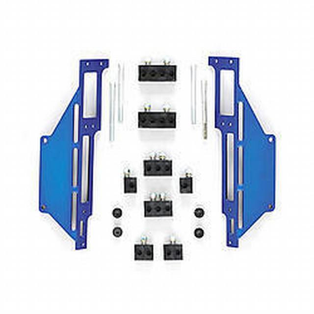 Spark Plug Wire Loom SBC C/B Blue