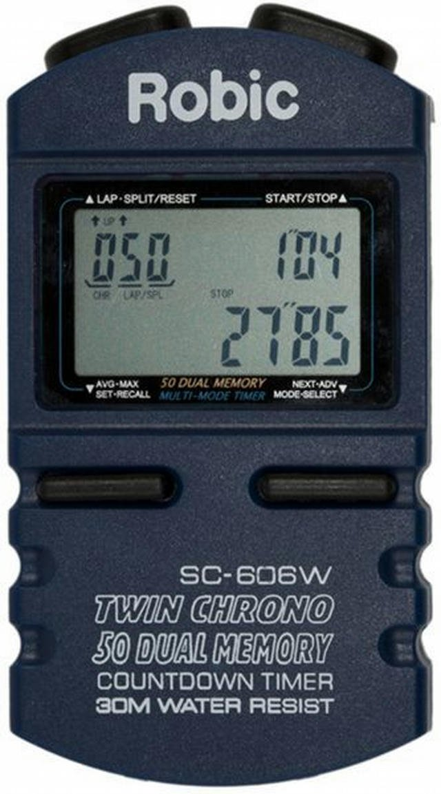 Stopwatch w/50Lap Memory