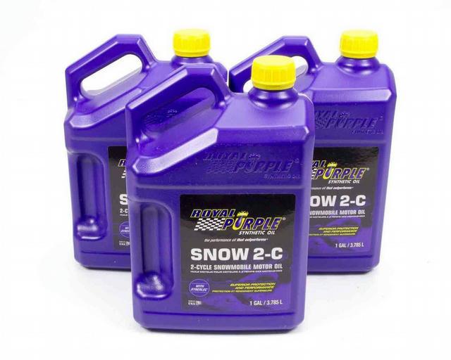 Snowmobile 2 Cycle Oil Case 3x1 Gallon