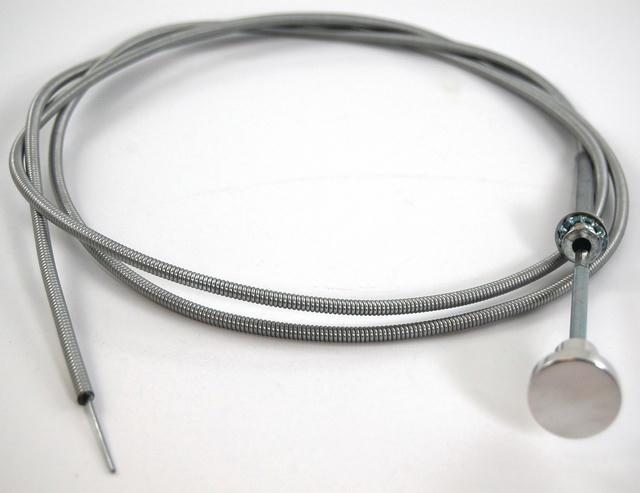 6' Choke Cable Assembly W/Billet Aluminum Handle