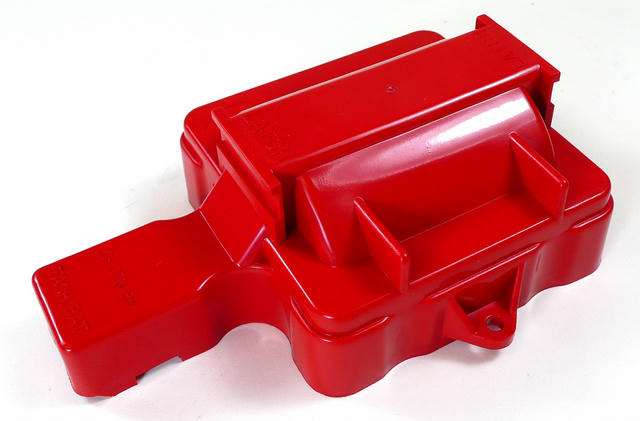 Coil Cap Cover Red