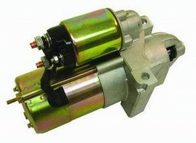 Satin Gm Starter - 2.4 Hp 168 Tooth Flywheel