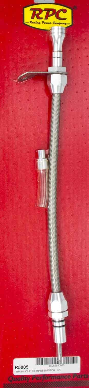 Flexible Trans Dipstick GM TH400 B/H Mount