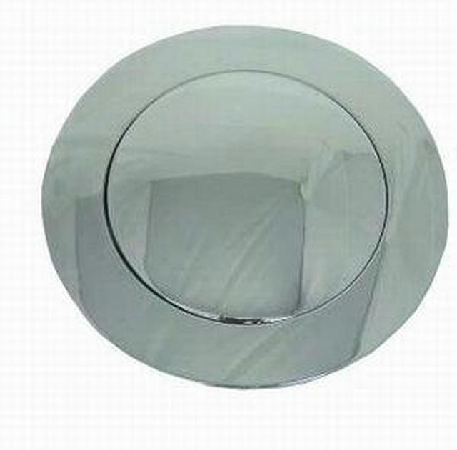 Chrome Alum Gm 67-94 Ho rn Button