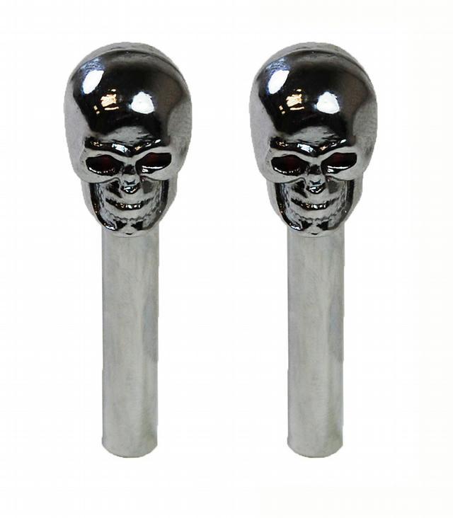 Skull Door Lock Knobs Pr