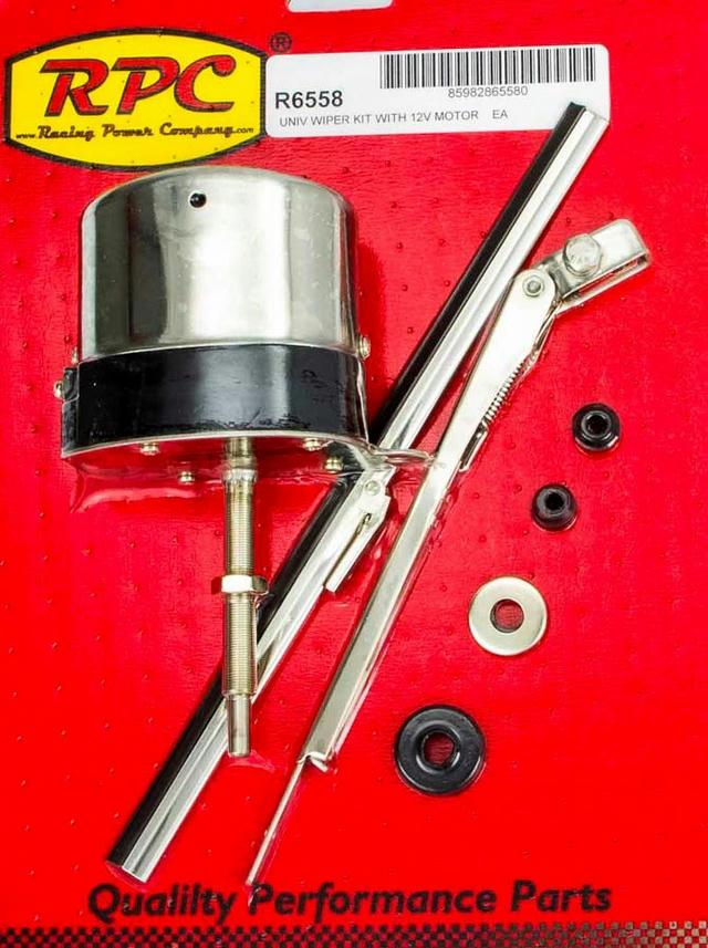12v S/S Wiper Motor w/Arm & Blade