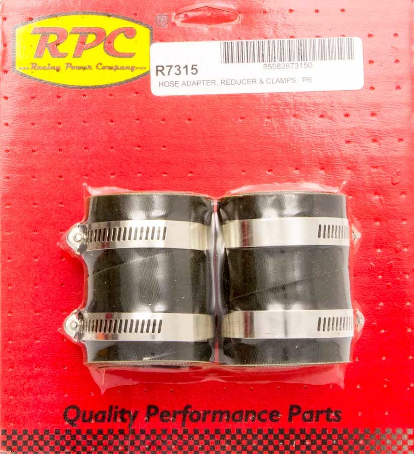 Radiator End Rubber Hose End 2in x 1.5in