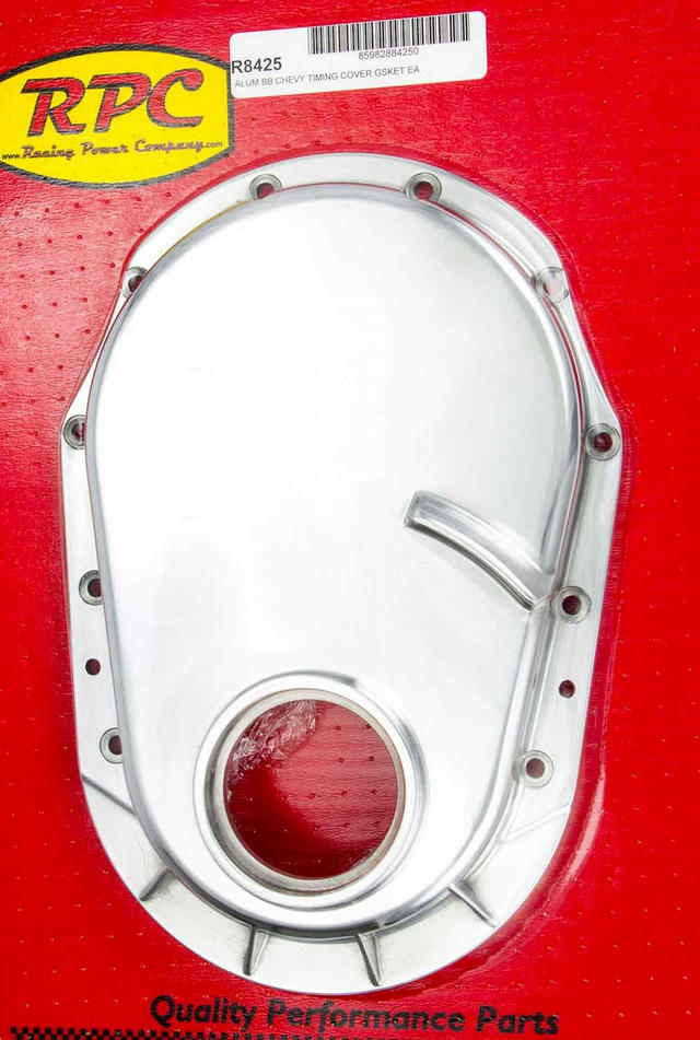 BBC 91-95 Alum Timing Chain Cover Polished