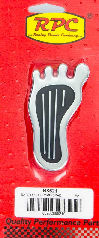 Dimmer Pad Barefoot Chrome Steel