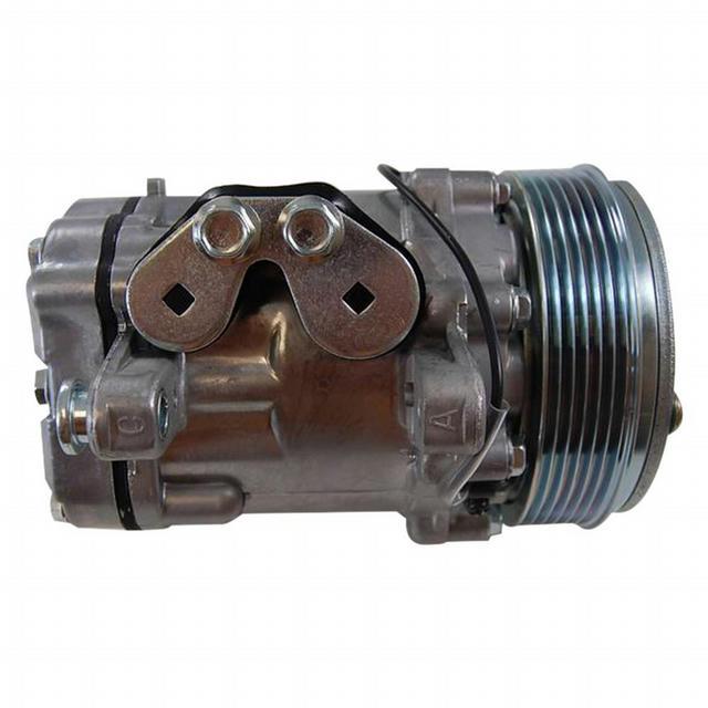 Sanden #7176 12V A/C Co mpressor Serpentine