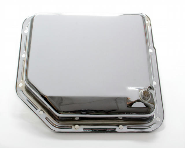 TH350 Trans Pan Chrome Steel Plain
