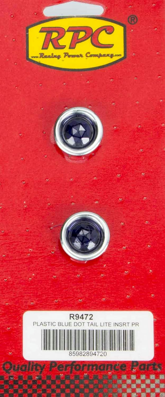 Blue Dot Taillight Insert Each