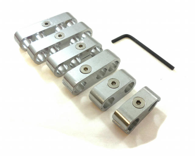 Billet Wire Separators Race Style - CNC
