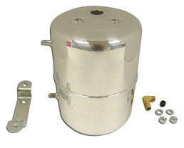 Chrome Steel Vacuum Sys tem Reservoir Tank