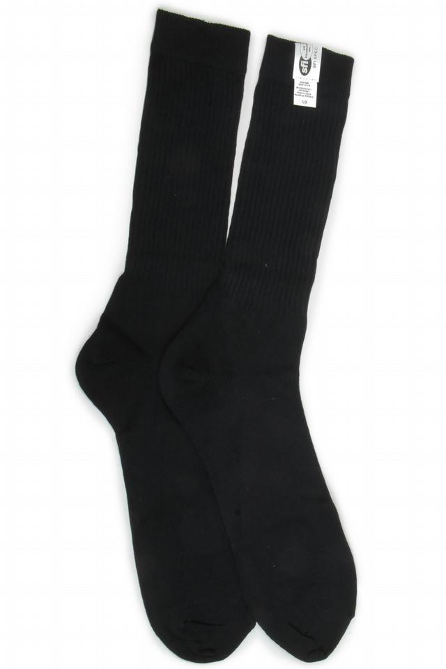 Socks FR Large 10-11 Black SFI 3.3