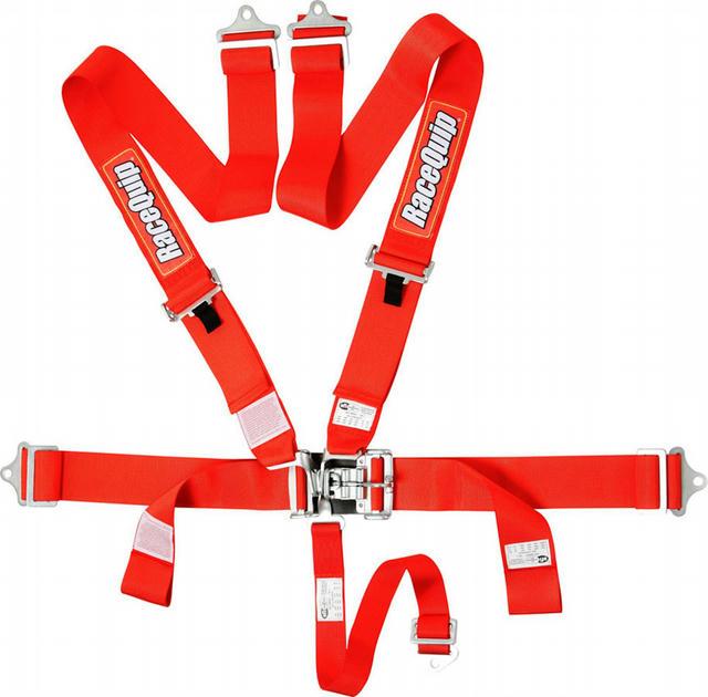 5pt Harness Set L&L Red SFI