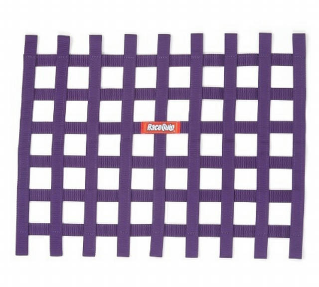 Ribbon Window Net Purple Non-SFI 18in x 24in