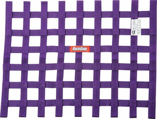 Ribbon Window Net SFI Purple