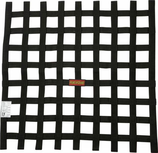 Ribbon Net 24x24 SFI Black