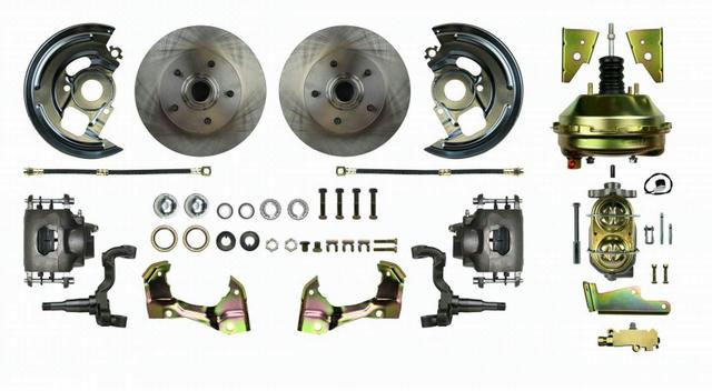 64-72 GM A Body Booster Power Disc Brake Kit