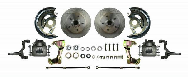 Disc Brake Wheel Kit 67-69 Camaro