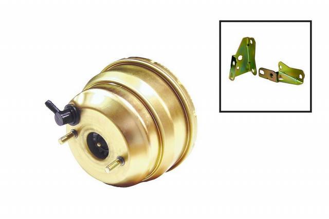 8in Dual Booster w/ Rod Bracket