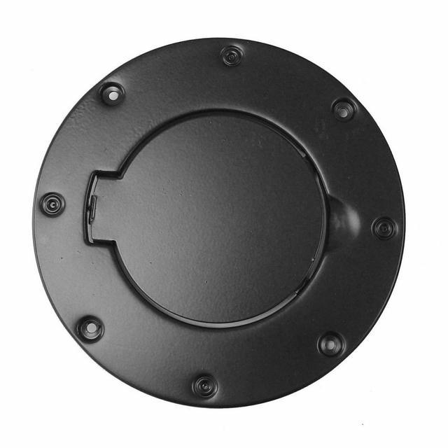 Non-Locking Gas Cap Door Black 97-06 Jeep Wran