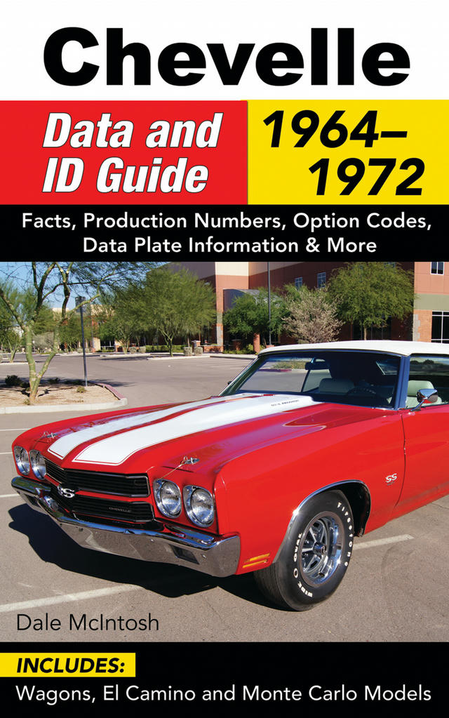 1964-72 Chevelle Data & ID Guide