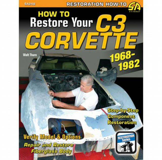How to Restore C3 Corvet te 1968-1982