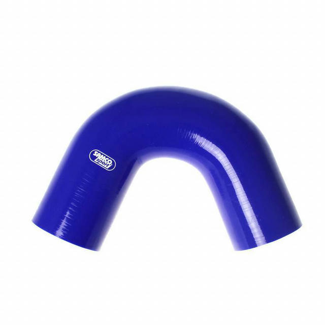 3-1/2in 135 Deg Elbow Hose Blue