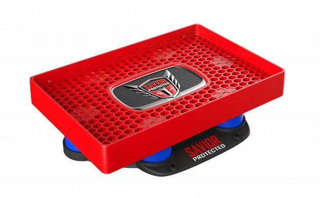Savior Battery Tray JR. Universal Red