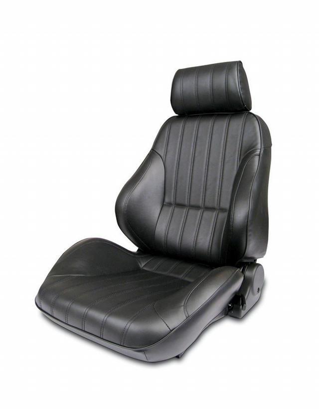 Rally Recliner Seat - LH - Black Vinyl