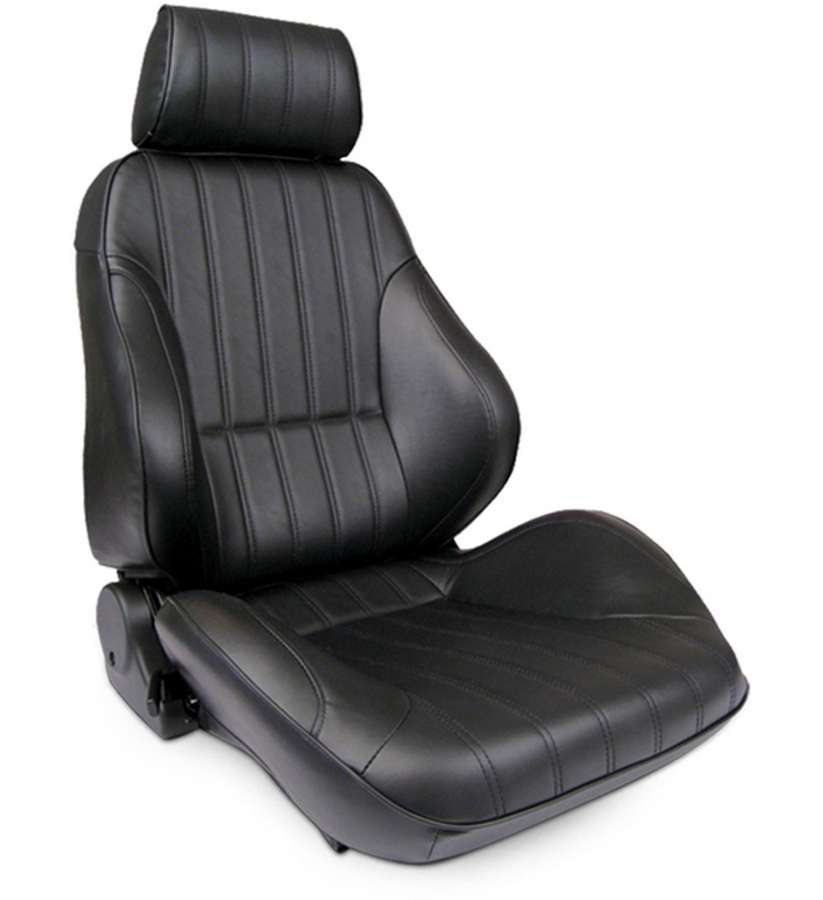 Rally Recliner Seat - RH - Black Leather