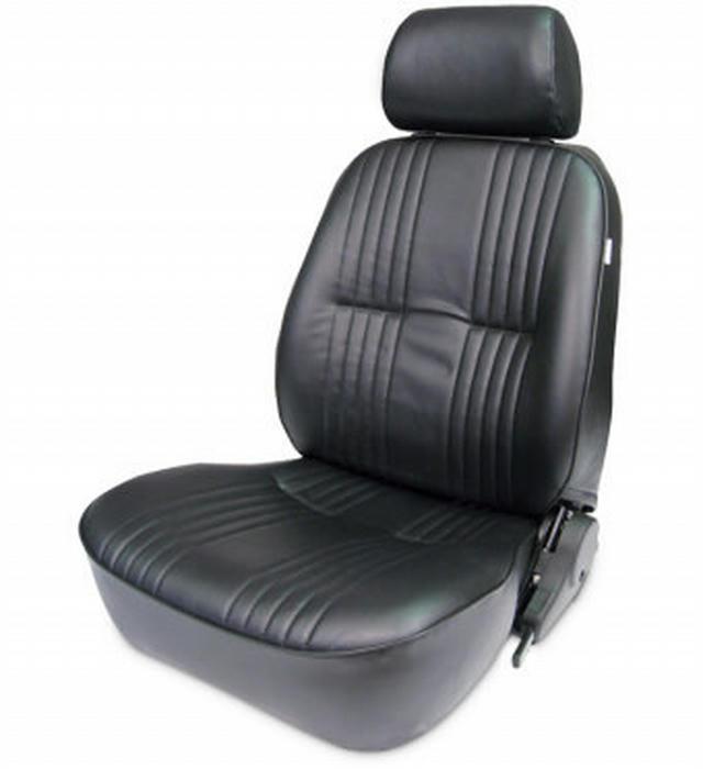 PRO90 Recliner Seat w/ Headrest - LH Black Vnyl
