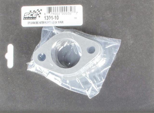 BBC Water Pump Gaskets (10pr) Dyno Pack