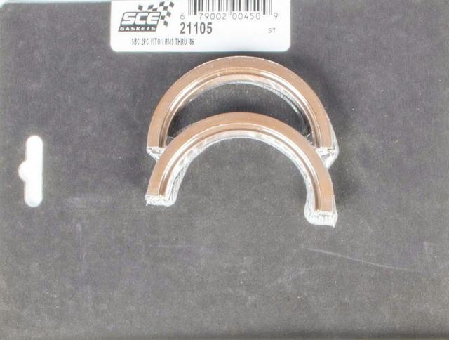 SBC Rear Main Seal - 2-Piece Viton