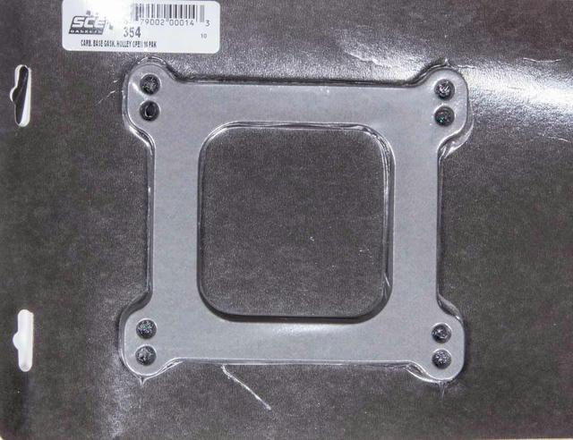 Carburetor Gaskets (10) Holley Open 4-BBL