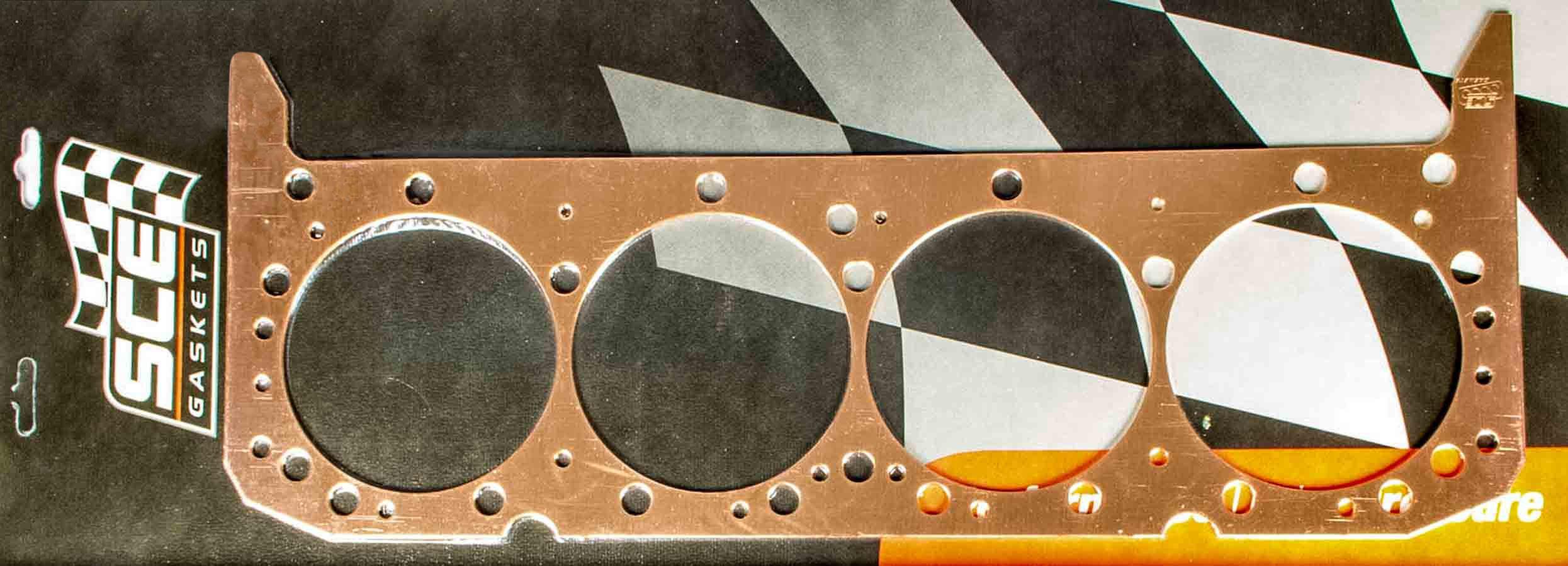 SBC Copper Head Gasket 4.155 x .080
