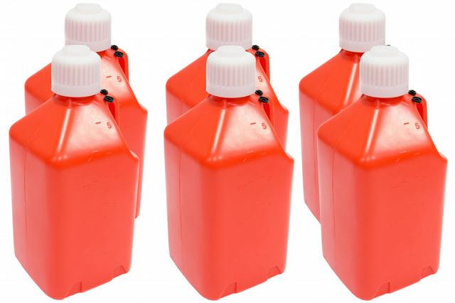 Utility Jug - 5-Gallon Orange - Case 6