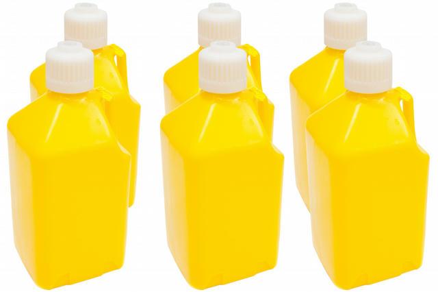 Utility Jug - 5-Gallon Yellow - Case 6