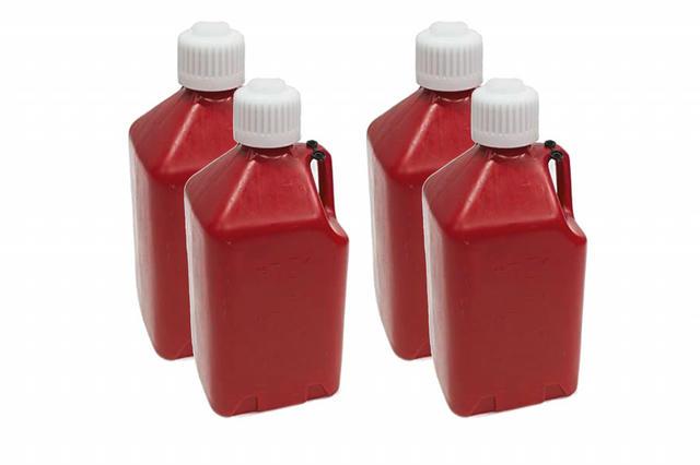 Utility Jug 3 Gallon - Red - Case 4