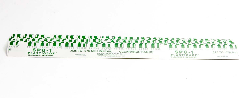 .001in-.003in Plastigage Green