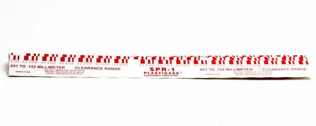 .002in-.006in Plastigage Red