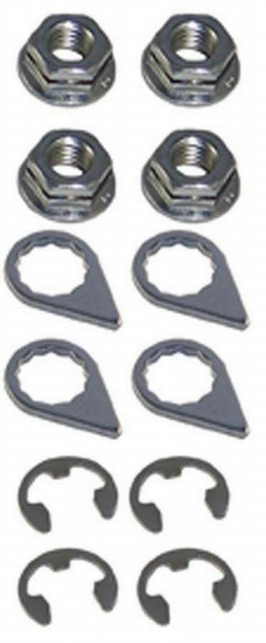 Turbo Locking Nut Kit - 8mm x 1.25 (4)