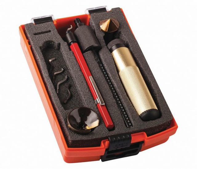 Deburring Kit Auto-Burr 10pc Hand Deburring Set