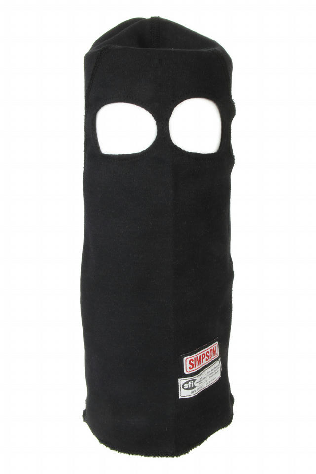 Nomex Head Sock Black Dual Eyeport