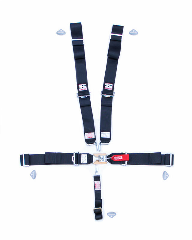 5-pt Sport Harness Systm LL P/D B/I Ind 55in