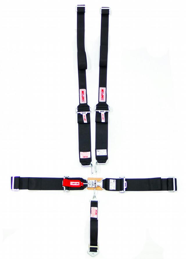 Harness Set 5pt HANS L/L W/A P/D Black